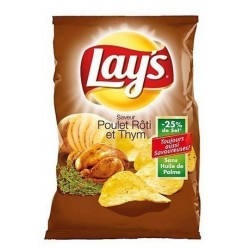 Chips Lay's poulet thym 145 g