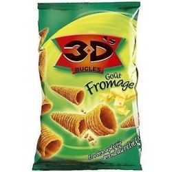 Bugles 3D's fromage 85 G